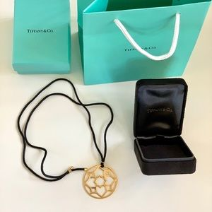 TIFFANY & Co. Picasso Zellige 18k Gold Necklace
